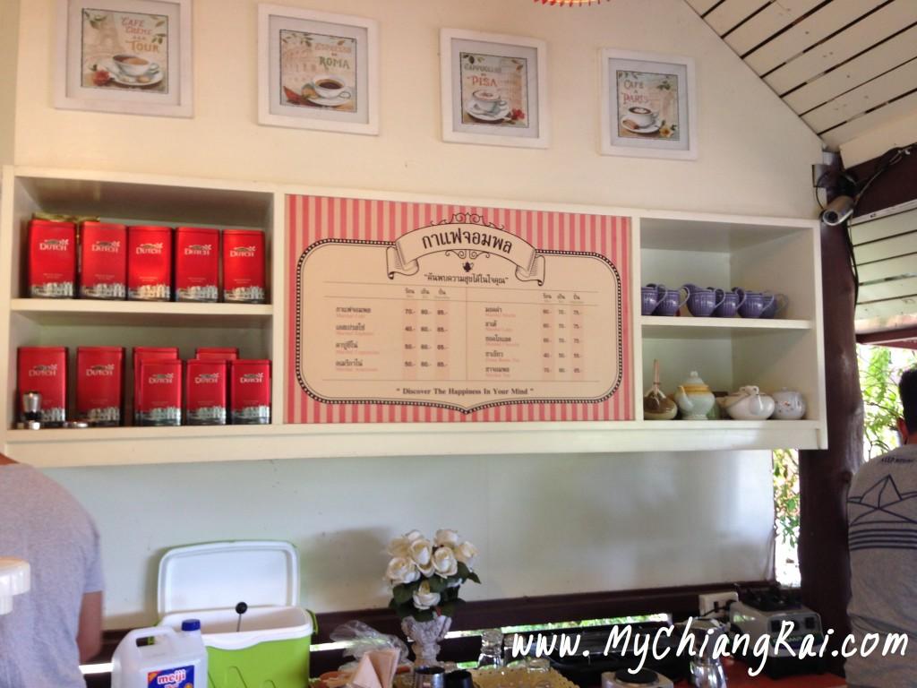 รีวิว ร้านกาแฟ เชียงราย
