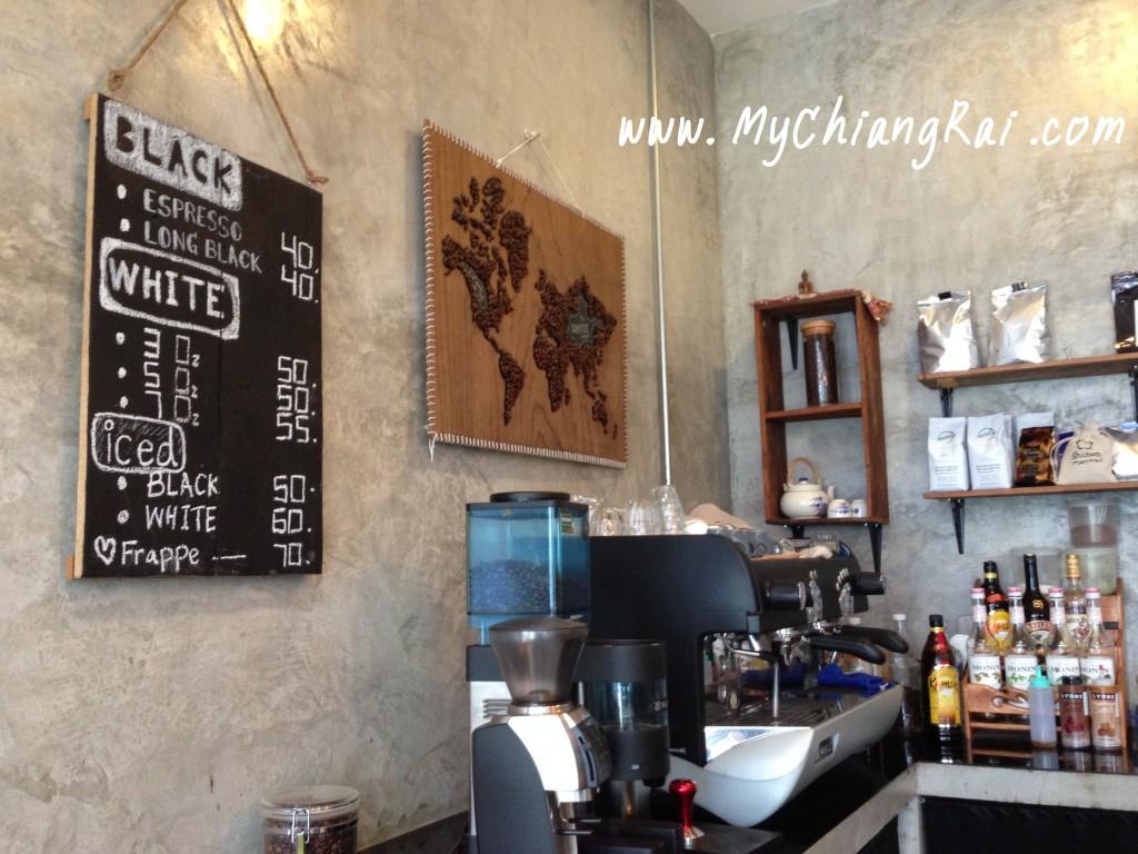 รีวิวร้านกาแฟ เชียงราย
